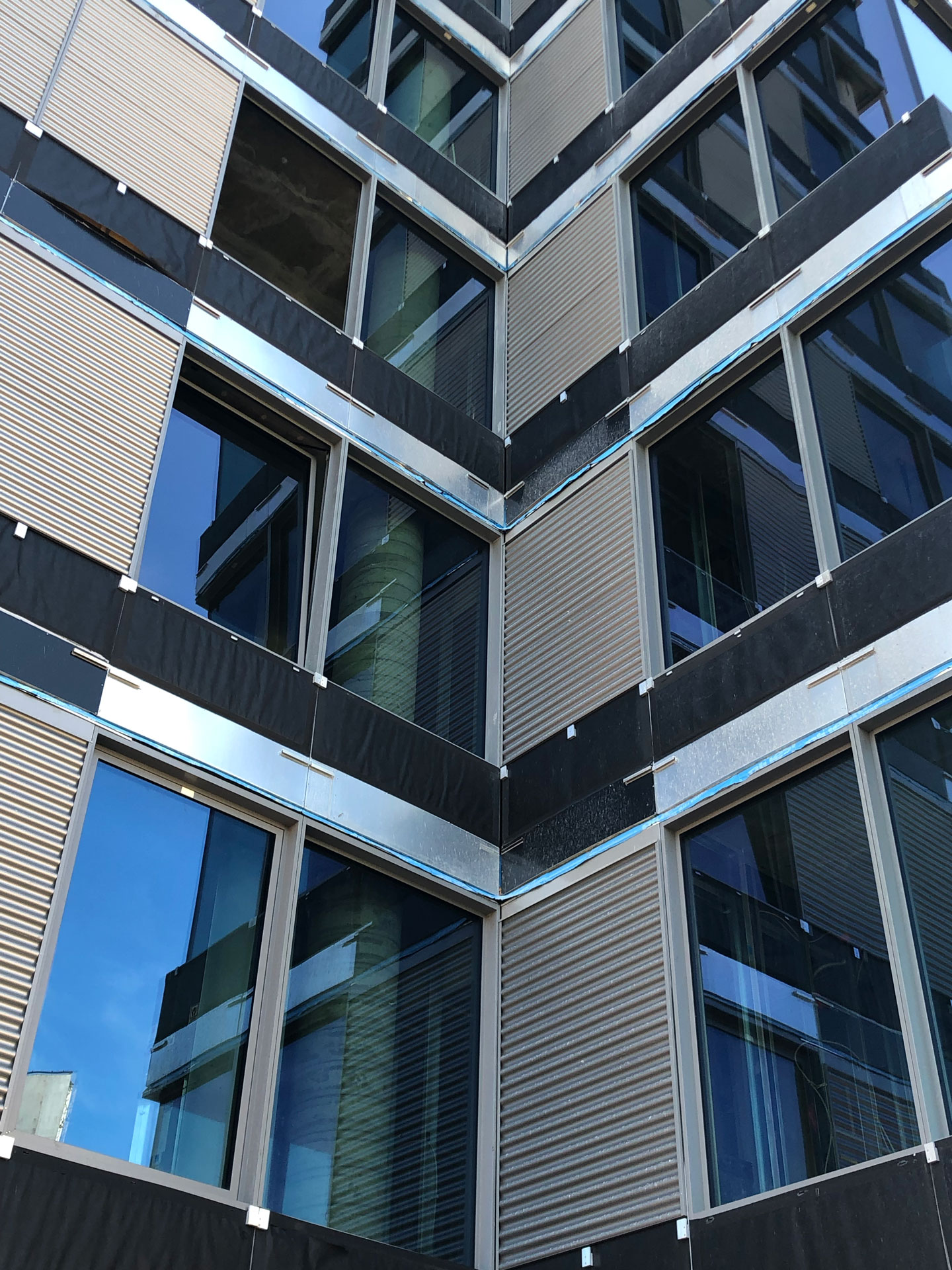Lighthouse Point in Staten Island New York glass and facade by Elevation 1 High Performance Facades.