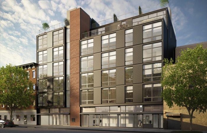 280 Metropolitan Apartments with Facade by Elevation 1 High Quality Facades